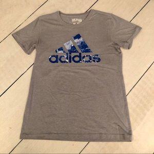 Gray Adidas T-Shirt